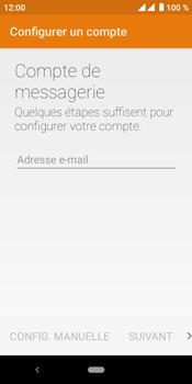 Crosscall Core M4 - E-mails - Ajouter ou modifier un compte e-mail - Étape 9