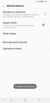 Samsung Galaxy S8 Plus - Android Oreo - Réseau - Sélection manuelle du réseau - Étape 11