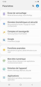 Samsung Galaxy A10 - Sécuriser votre mobile - Personnaliser le code PIN de votre carte SIM - Étape 4