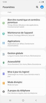 Samsung Galaxy A41 - Applications - Supprimer une application - Étape 4