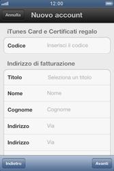 Apple iPhone 3GS - Applicazioni - Configurazione del negozio applicazioni - Fase 14