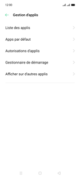 Oppo A15 - Applications - Supprimer une application - Étape 5