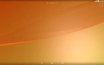 Sony Xperia Tablet Z2 LTE - Operazioni iniziali - Installazione di widget e applicazioni nella schermata iniziale - Fase 3