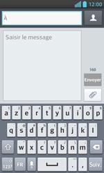 LG Optimus L5 II - Contact, Appels, SMS/MMS - Envoyer un SMS - Étape 5