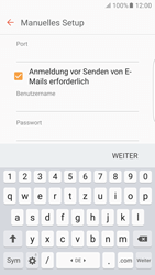 Samsung G925F Galaxy S6 edge - Android M - E-Mail - Konto einrichten - Schritt 12