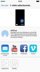 Apple iPhone 5 - Photos, vidéos, musique - Créer une vidéo - Étape 9