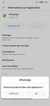 Huawei P20 lite - Applications - Supprimer une application - Étape 7