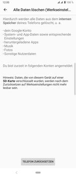 Sony Xperia 10 Plus - Fehlerbehebung - Handy zurücksetzen - Schritt 10