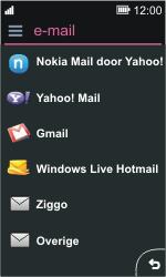 Nokia Asha 311 - E-mail - e-mail instellen: POP3 - Stap 6