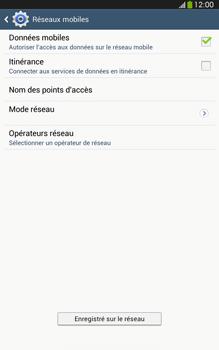 Samsung Galaxy Tab 3 8-0 LTE - Réseau - Sélection manuelle du réseau - Étape 10