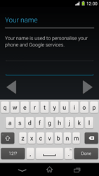 Sony Xperia Z1 - Applications - Setting up the application store - Step 6