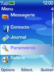 Nokia 6233 - MMS - configuration manuelle - Étape 3