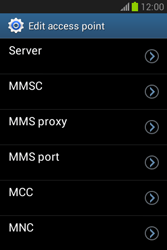 Samsung Galaxy Fame Lite - MMS - Manual configuration - Step 12
