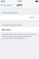 Apple iPhone 4 S - iOS 8 - E-mail - Configuration manuelle - Étape 20