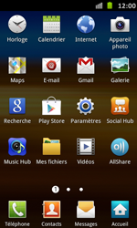 Samsung Galaxy S Advance - Internet et roaming de données - Configuration manuelle - Étape 18
