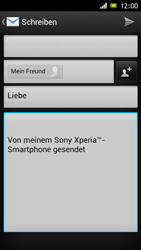 Sony Xperia J - E-Mail - E-Mail versenden - 8 / 15