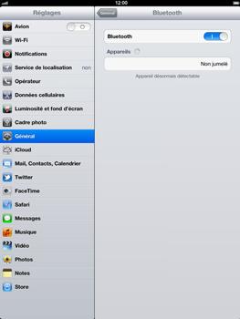 Apple iPad 4th generation - Bluetooth - connexion Bluetooth - Étape 9