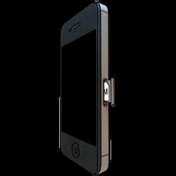 Apple iPhone 4 S mit iOS 7 - SIM-Karte - Einlegen - Schritt 3