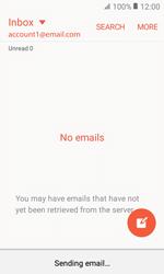 Samsung G389 Galaxy Xcover 3 VE - E-mail - Sending emails - Step 19