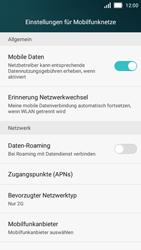 Huawei Y5 - Netzwerk - Netzwerkeinstellungen ändern - Schritt 7