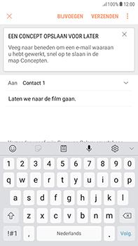Samsung Galaxy J4 - E-mail - hoe te versturen - Stap 10