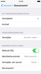 Apple iPhone 5 iOS 9 - E-mail - Handmatig instellen - Stap 21