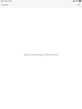 Apple iPad Mini 4 - iPadOS 13 - E-mail - Envoi d