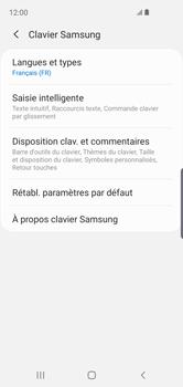 Samsung Galaxy S10e - Prise en main - Comment ajouter une langue de clavier - Étape 8