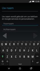 HTC One M8 - apps - account instellen - stap 5