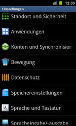 Samsung Galaxy Ace 2 - Fehlerbehebung - Handy zurücksetzen - 2 / 2