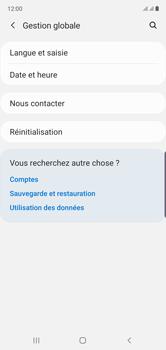 Samsung Galaxy Note 10 - Prise en main - Comment ajouter une langue de clavier - Étape 5