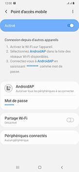Samsung Galaxy A50 - WiFi - Comment activer un point d'accès WiFi - Étape 12