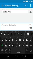 HTC Desire 510 - Contact, Appels, SMS/MMS - Envoyer un SMS - Étape 9