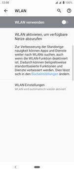 Sony Xperia 10 - WLAN - Manuelle Konfiguration - Schritt 6