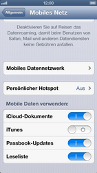 Apple iPhone 5 - Internet - Manuelle Konfiguration - Schritt 6
