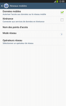 Samsung T315 Galaxy Tab 3 8-0 LTE - MMS - Configuration manuelle - Étape 6