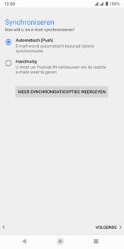 Sony xperia-xz3-dual-sim-model-h9436 - E-mail - Handmatig Instellen - Stap 14