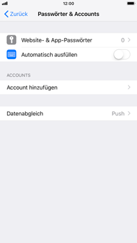 Apple iPhone 8 Plus - iOS 12 - E-Mail - Konto einrichten (outlook) - Schritt 4