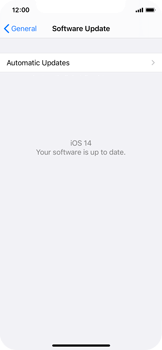 Apple iPhone XS - iOS 14 - Software - Installing software updates - Step 6