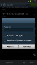 Samsung Galaxy S III - WiFi - WiFi-Konfiguration - Schritt 7