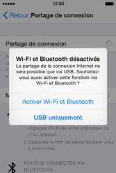 Apple iPhone 4S (iOS 8) - Internet et connexion - Partager votre connexion en Wi-Fi - Étape 6