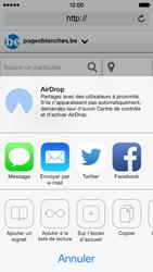 Apple iPhone 5c - Internet et roaming de données - Navigation sur Internet - Étape 15