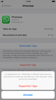 Apple iPhone 6s Plus iOS 11 - Applications - Comment désinstaller une application - Étape 7