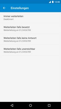 Motorola Google Nexus 6 - Anrufe - Rufumleitungen setzen und löschen - 1 / 1