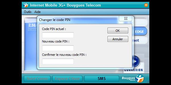 Huawei E1552 - Sécuriser votre mobile - Personnaliser le code PIN - Étape 6
