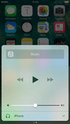 Apple iPhone 6s iOS 10 - iOS features - Control Centre - Step 11