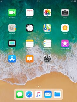 Apple iPad Air - iOS 11 - Mehrere App-Symbole gleichzeitig verschieben - 2 / 5