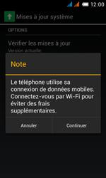 Alcatel One Touch Pop C3 - Logiciels - Installation de mises à jour - Étape 6