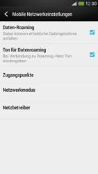 HTC One Mini - Ausland - Im Ausland surfen – Datenroaming - 9 / 11