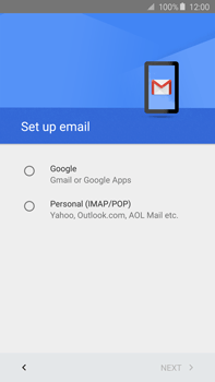 Samsung N920 Galaxy Note 5 - E-mail - Manual configuration (gmail) - Step 9